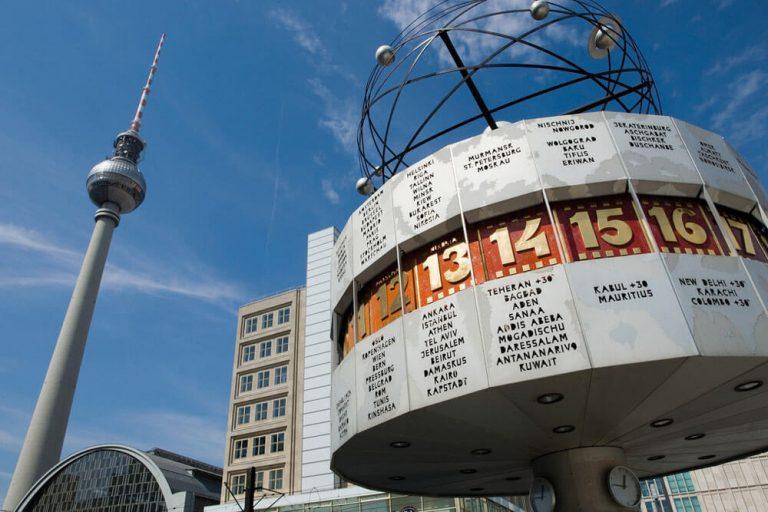 berlin fernsehturm weltzeituhr alexander staedtereise projektwoche klassenfahrt visitberlin wolfgang scholvien